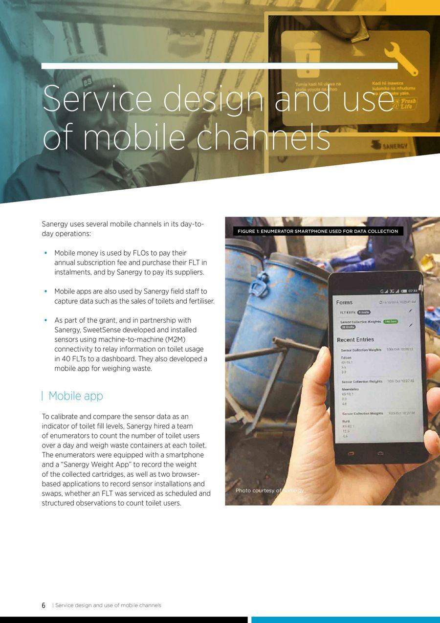 Sanergy, Inc. | Mobile for Development