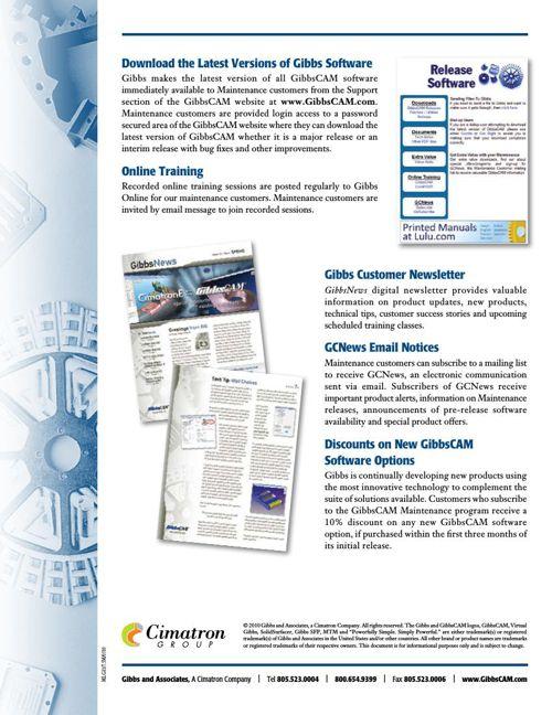 MLG011-Maintenance-Datasheet-0510 by SJMarketing - Flipsnack
