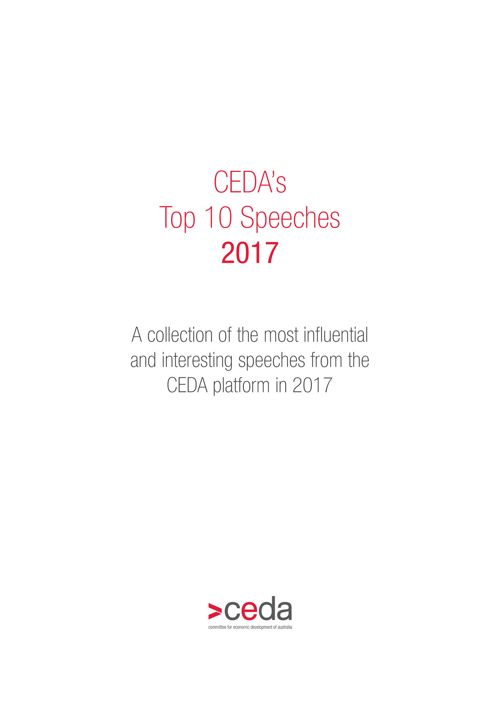 CEDA - Top 10 Speeches