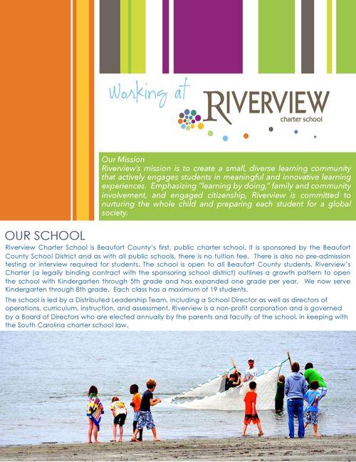 employment riverview charter school