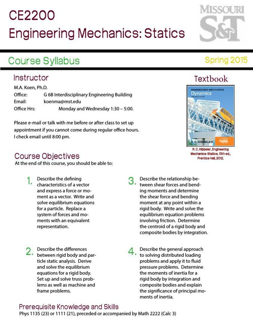 CE2200 Syllabus Redesign by Julie Phelps - Flipsnack
