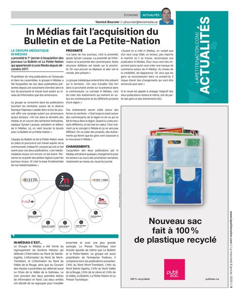 8 Janvier 2020 La Petite Nation
