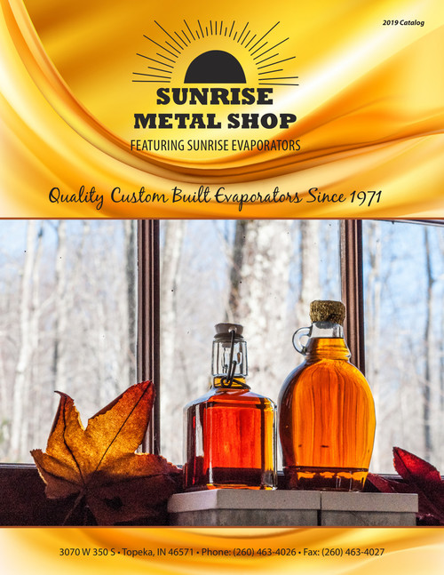 2019 Sunrise Metal Evaporator Catalog