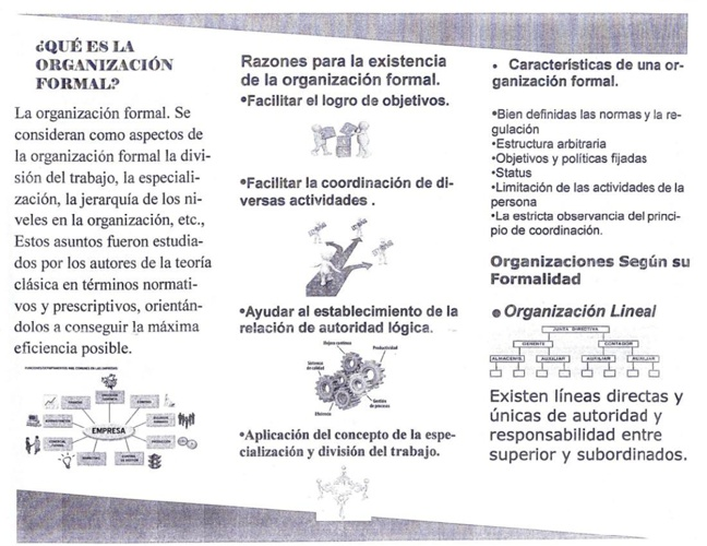 Organizacion Formal Y Sus Caracteristicas By Fcardenas
