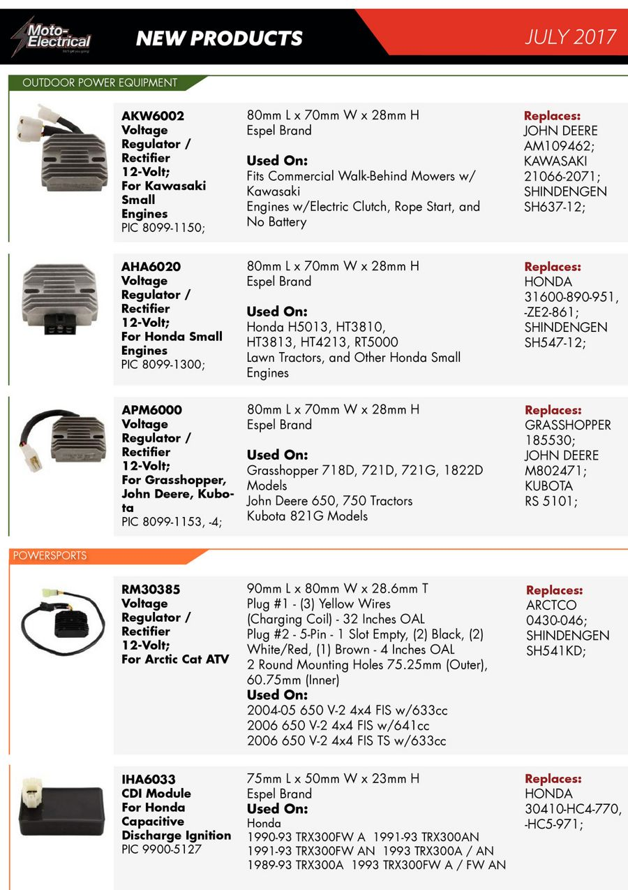 Alternators Archives - Moto Electrical