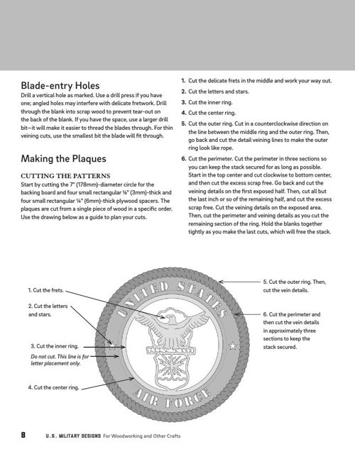 Us military designs for woodworking other crafts fox chapel next spiritdancerdesigns Image collections