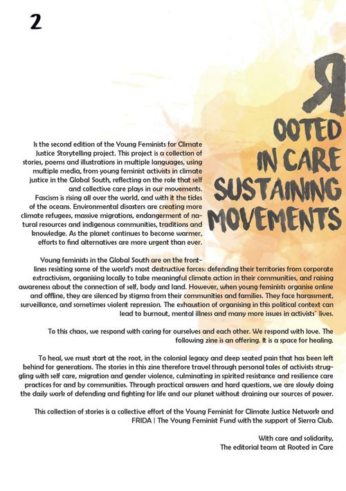 Rooted in Care: Sustaining Movements' Volume II of the Young