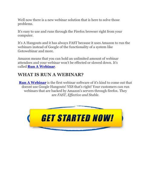 RUN A WEBINAR BY SAM BAKKER REVIEW by imrecom - Flipsnack