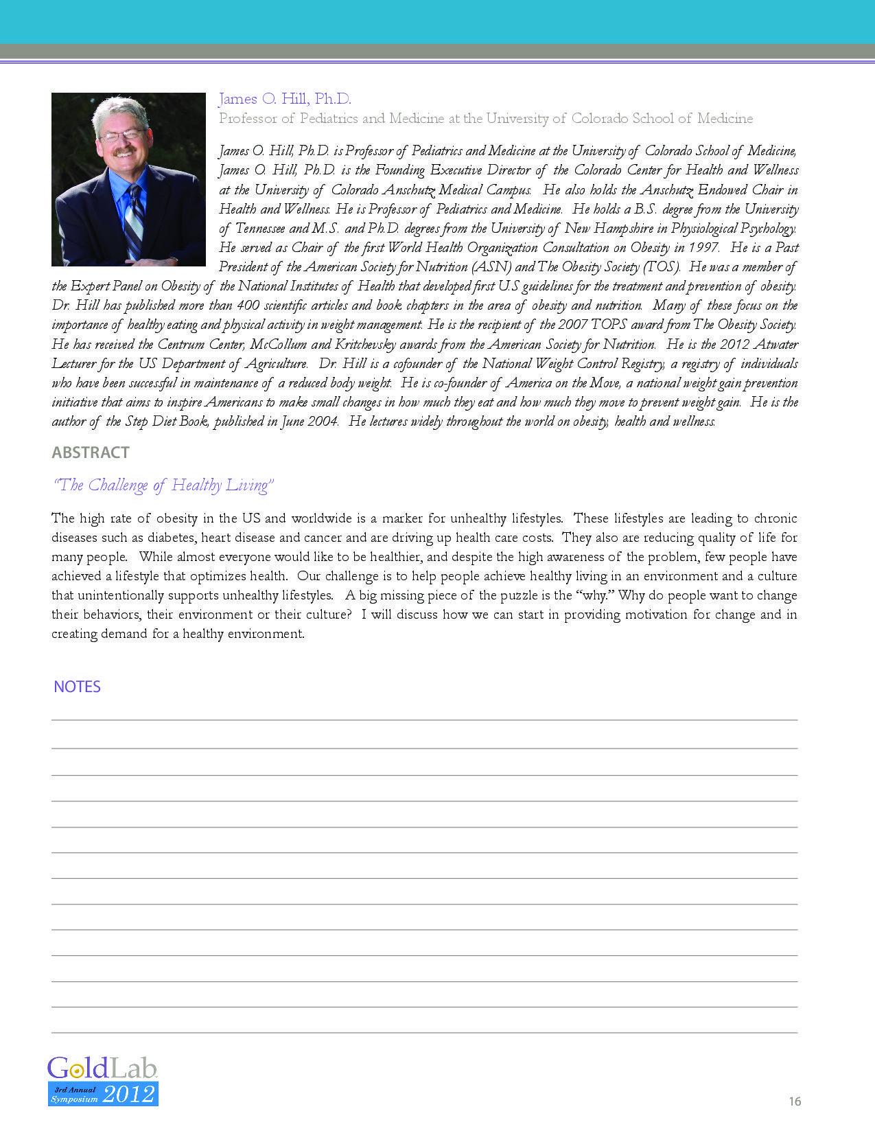 Annual Symposium | GoldLab Foundation