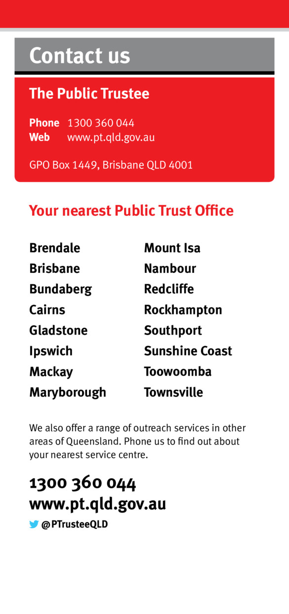 Probate records qld