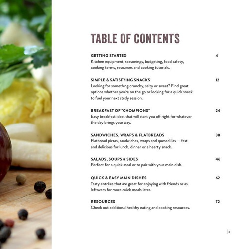 make online cookbooks with flipsnack