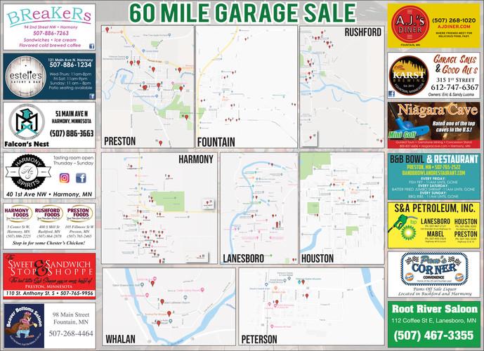 Fillmore County Journal – 60 Mile Garage Sale
