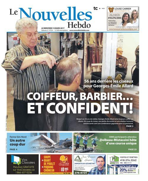 Mercredi 15 Mars 2017 Le Nouvelles Hebdo