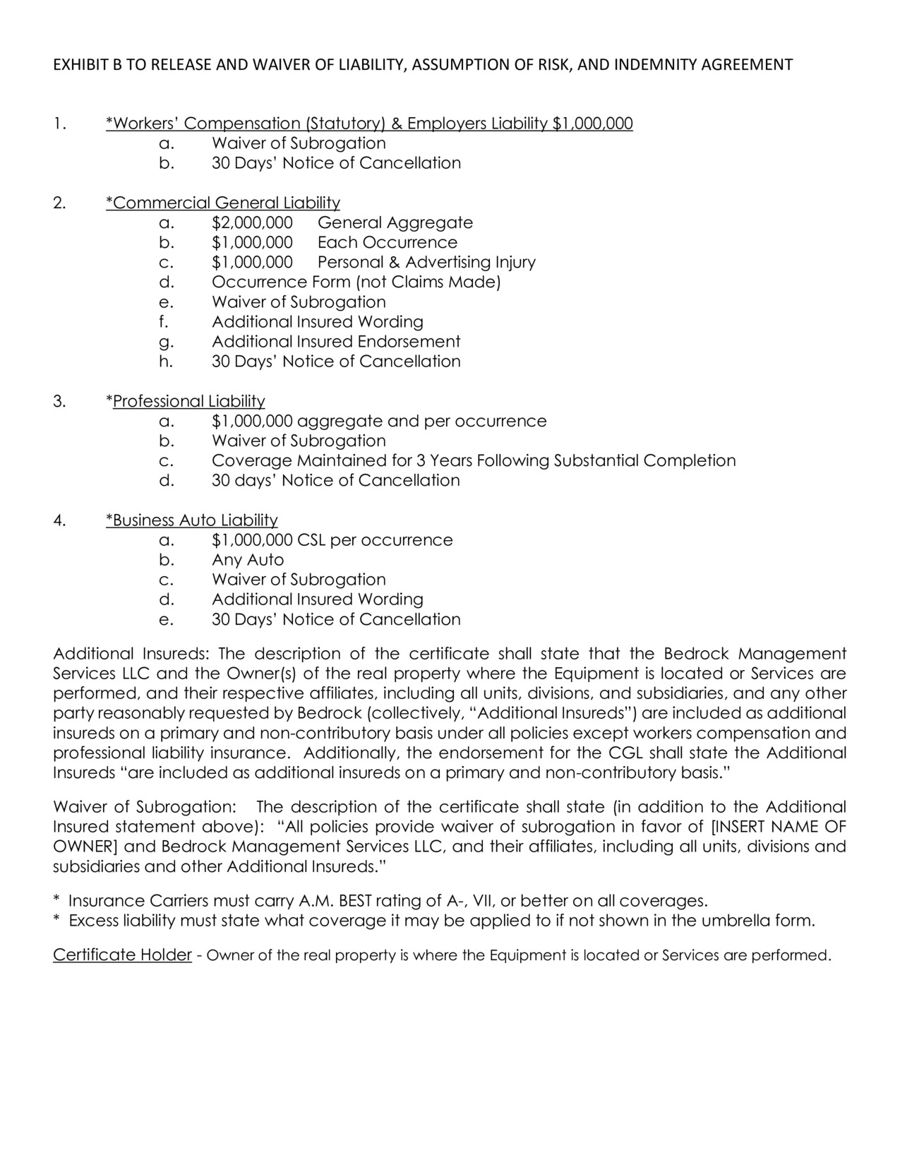 Waiver Agreement