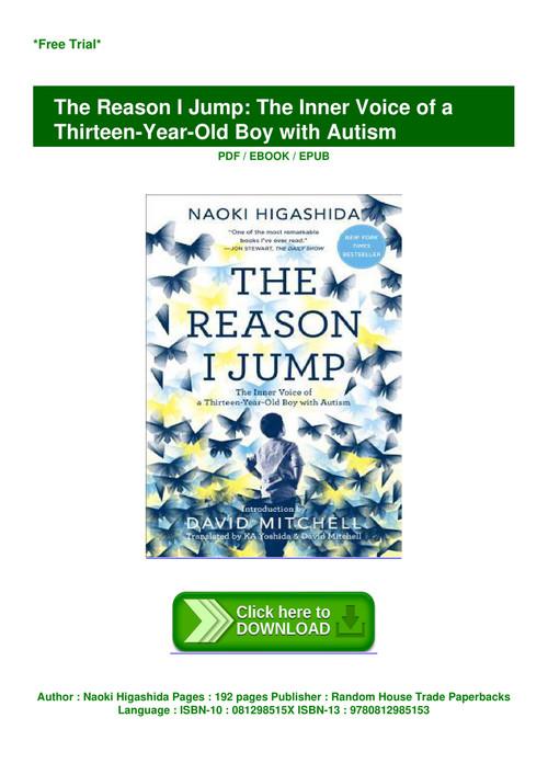 the reason i jump pdf free download