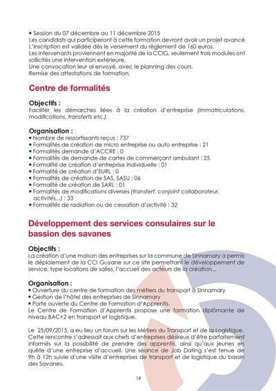 Rapport D Activite La Cci Guyane