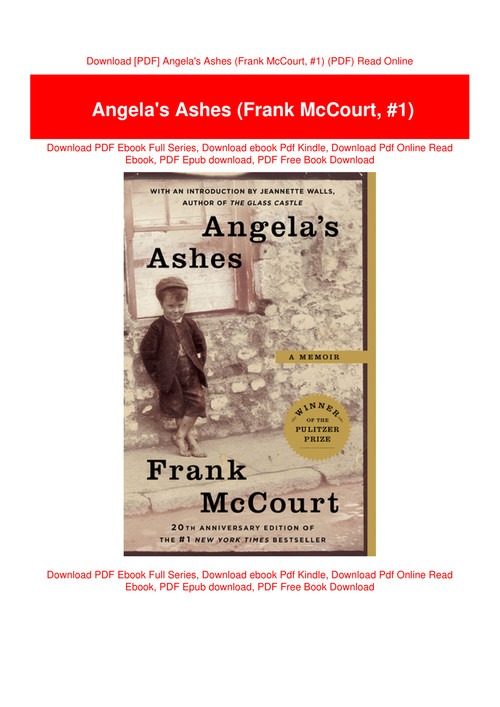 angelas ashes by frank mccourt pdf free download