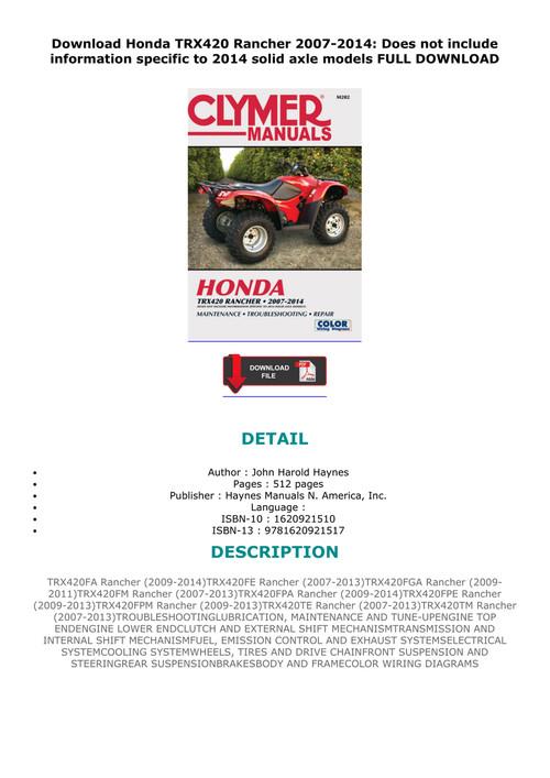 Complete Swingarm Bearings Seals Kit Honda TRX420 Rancher 2007 2008 2009 2010