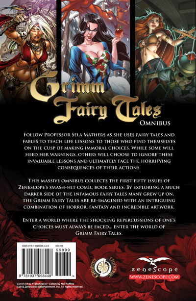 Grimm Fairy Tales Omnibus 1   Shop Zenescope – Zenescope
