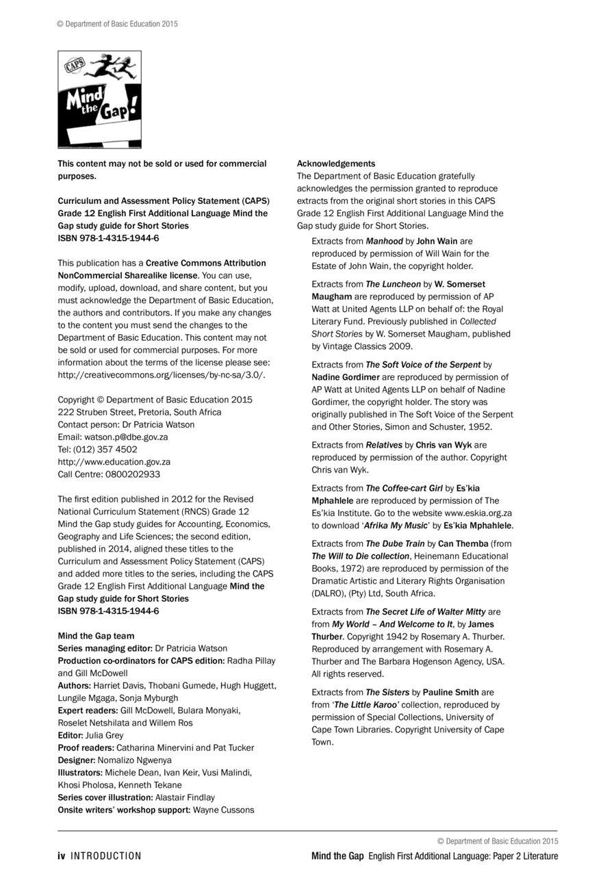 Worksheets English  Short Stories Grade 6 efal p2ss short stories by dingizulu flipsnack next
