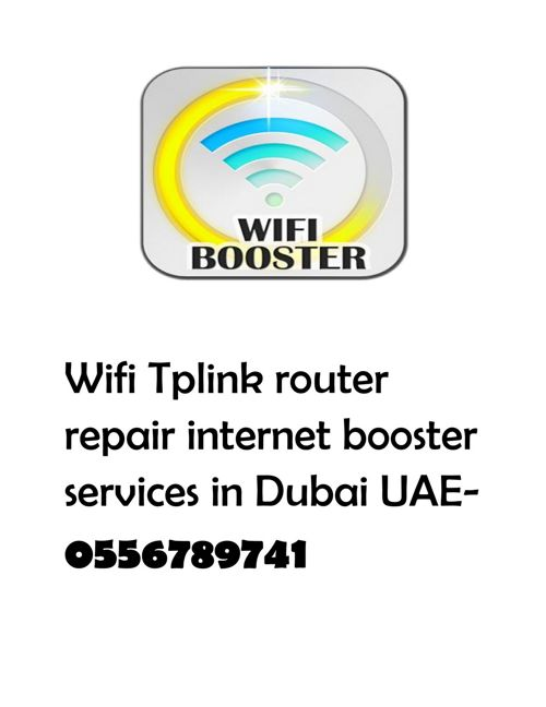 Wifi router solution repair technician in Al barsha south by