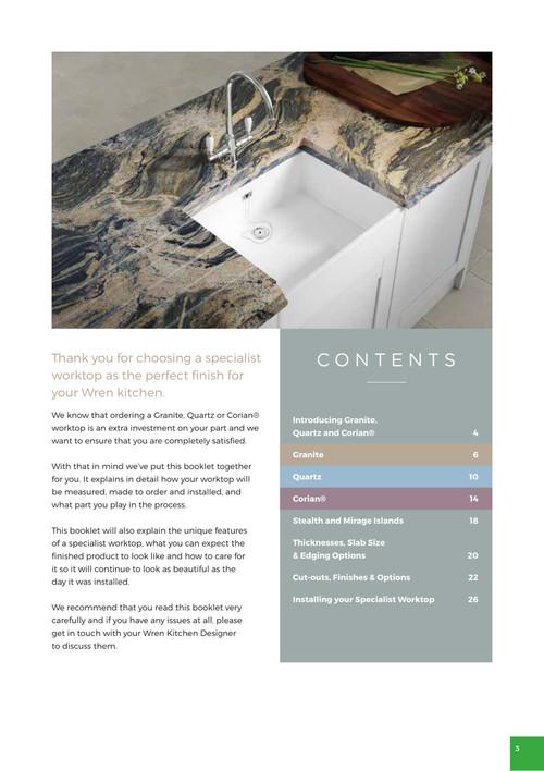 Kitchen Worktops | Wood, Granite & Laminate