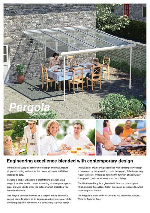 Pergola | Outdoor Living | Ultraframe Trade