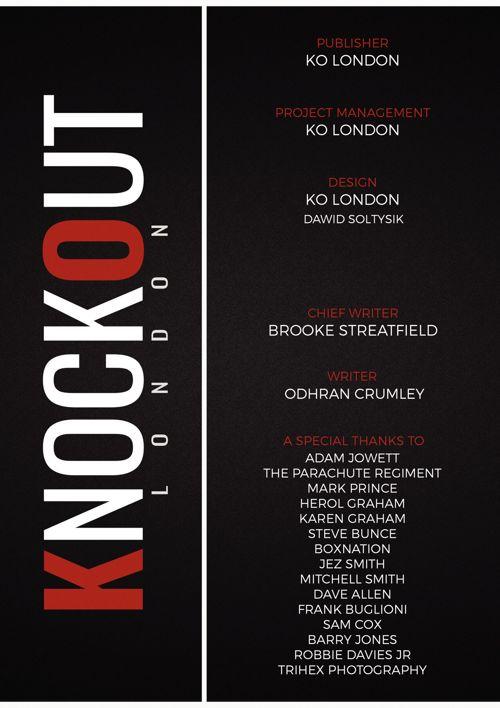 KnockOut London Magazine 7