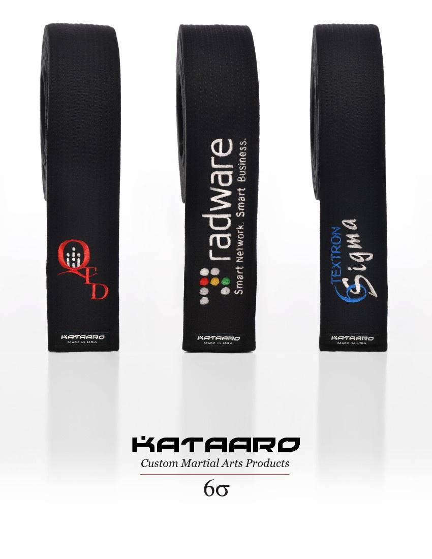 Purchase Custom Six Sigma Belts And Awards Kataaro