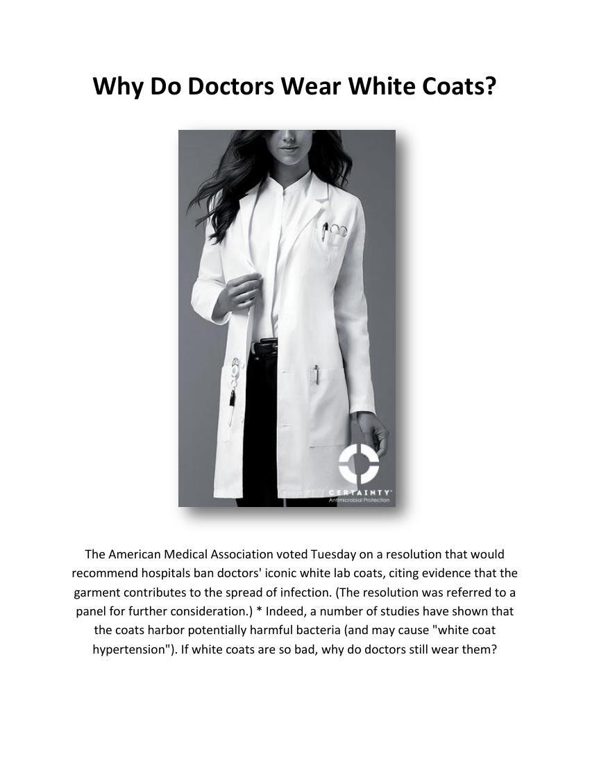 FlipSnack - Why Do Doctors Wear White... by Bhem Yasui