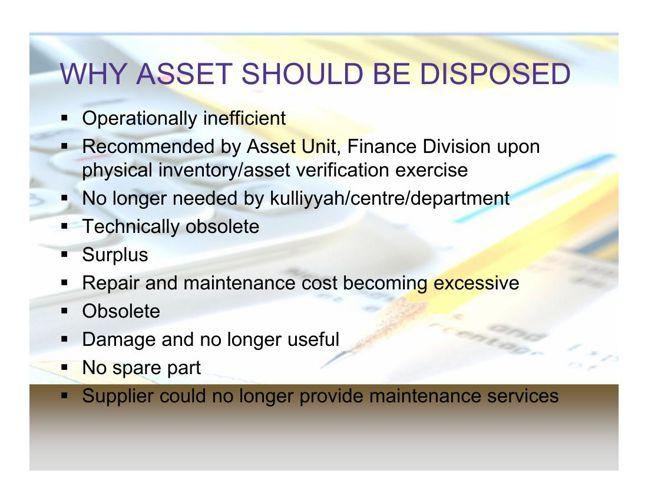 Asset Disposal Presentation 29092015 by iiumfinance - Flipsnack