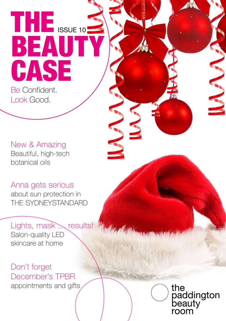 Christmas Beauty Appointments.The Beauty Case Edition 10 The Paddington Beauty Room