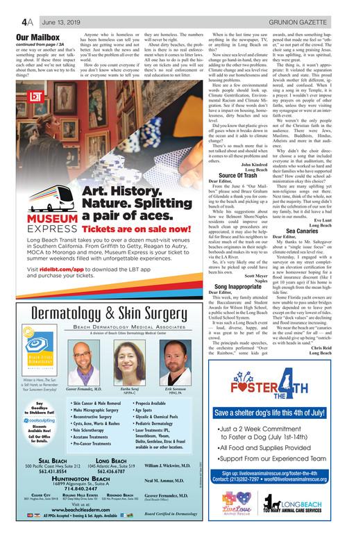 Grunion Gazette - June 13, 2019 (e-edition)     gazettes com
