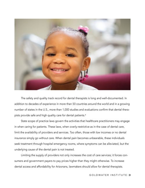 THE REFORM THAT CAN INCREASE DENTAL ACCESS AND AFFORDABILITY IN ...