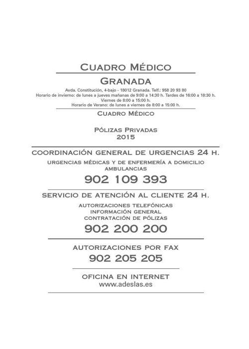 Cuadro Medico By Entrealamos Flipsnack