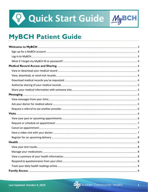 Mybch Boulder Community Health