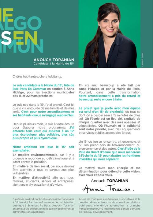 Programme D Anouch Toranian Paris 15 By Noelle Velly Flipsnack