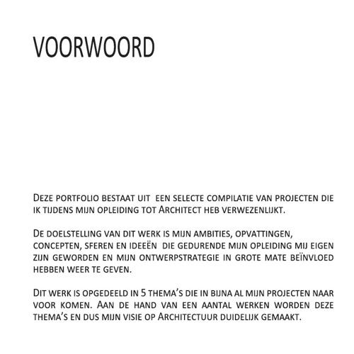 voorbeeld voorwoord portfolio Portfolio Naomi Schouwaerts by Naomi Schouwaerts   Flipsnack