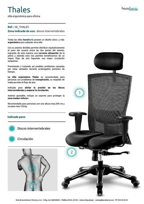 FT Thales silla ergonomica oficina... - Flipsnack