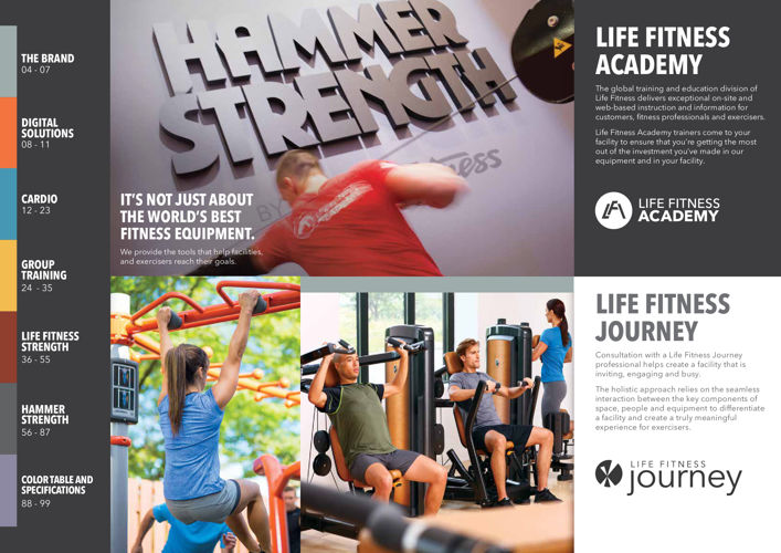 Life Fitness Commercial Brochure 2016 by lifefitnessau
