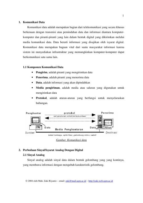 Komunikasi Data By Teguh Kurniawan Flipsnack