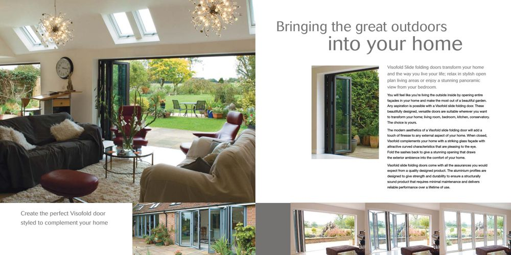 Aluminium Bi-fold Doors Milton Keynes | WIS | Bi-folding Door Prices