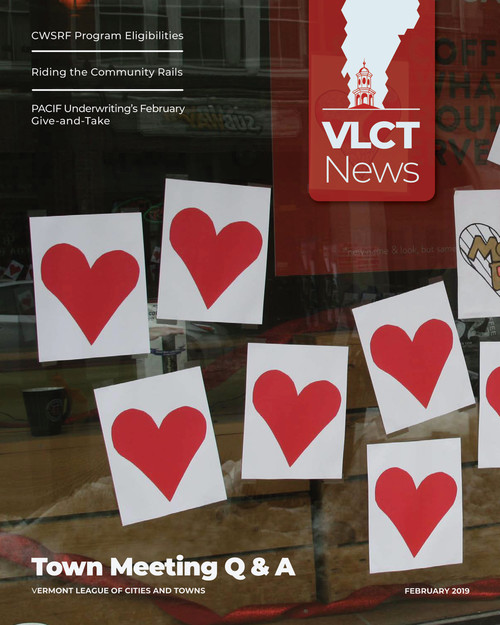 VLCT News February 2019 | Vermont League of Cities and Towns