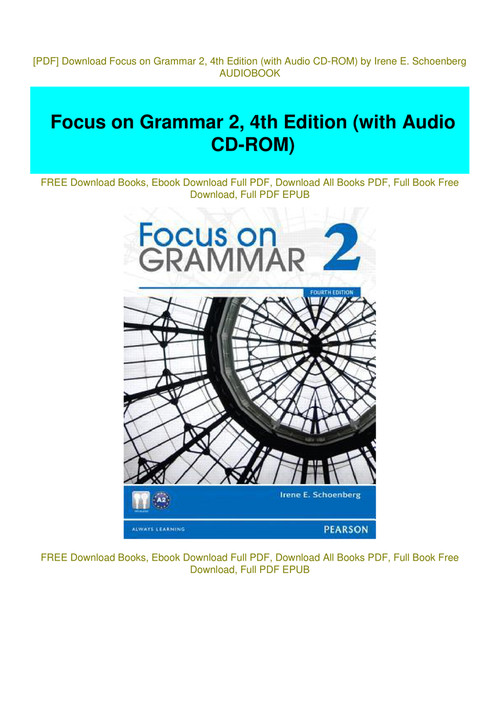 focus on grammar 2 4th edition pdf free download