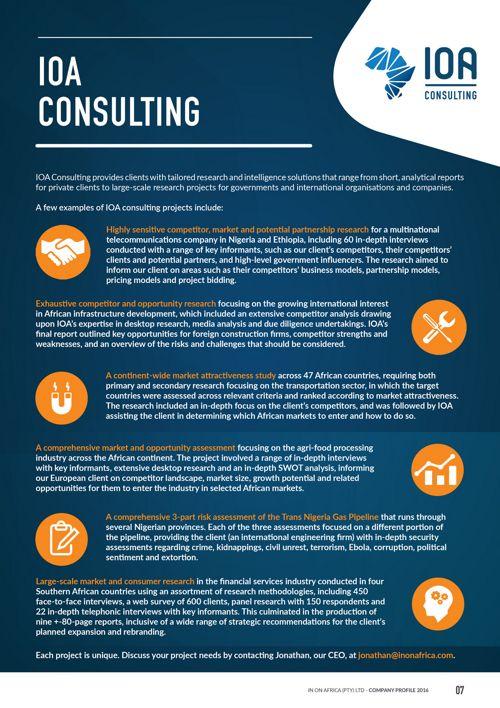 Company Profile | IOA