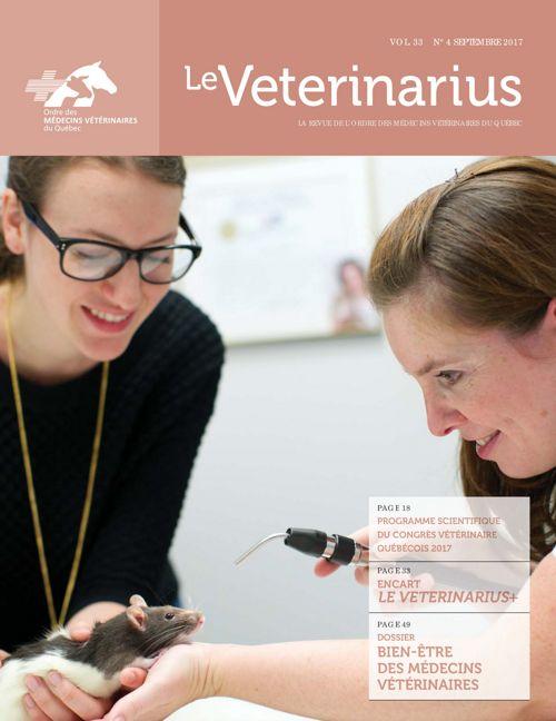 Le Veterinarius Septembre 2017 Vol. 33 No 4 by Maryse