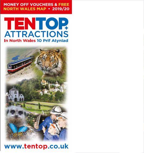 Ten Top Attractions In North Wales - Brochure