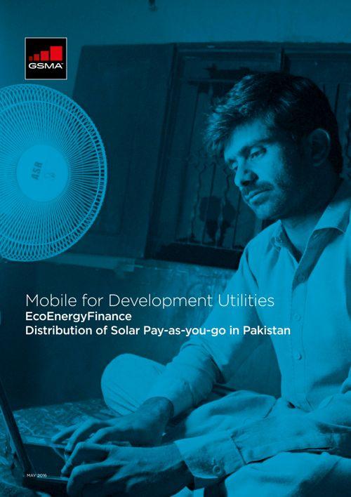 GSMA EcoEnergy | Mobile for Development