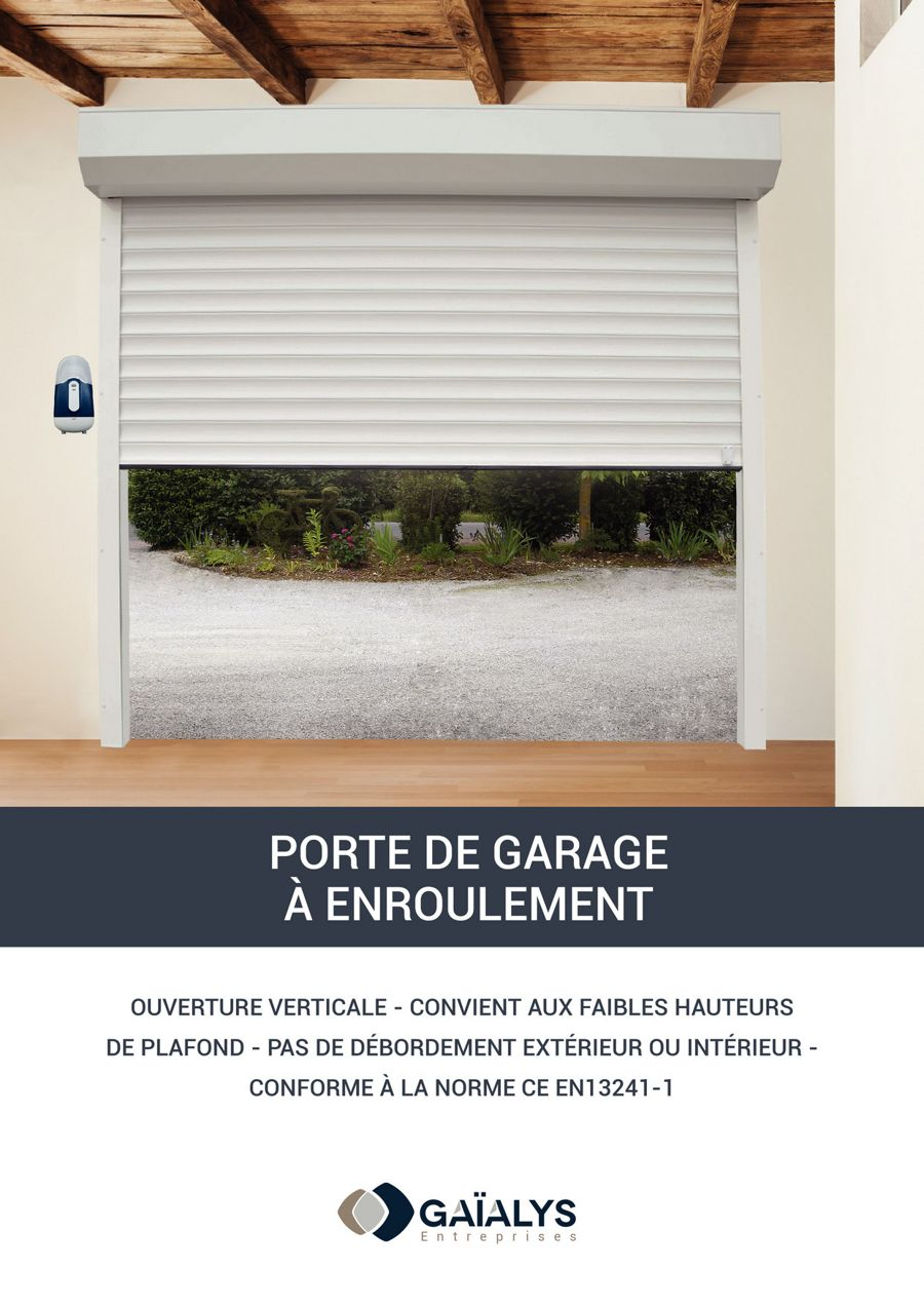 Catalogue Porte De Garage à Enroulement By Gaialys Flipsnack - Porte de garage maguisa