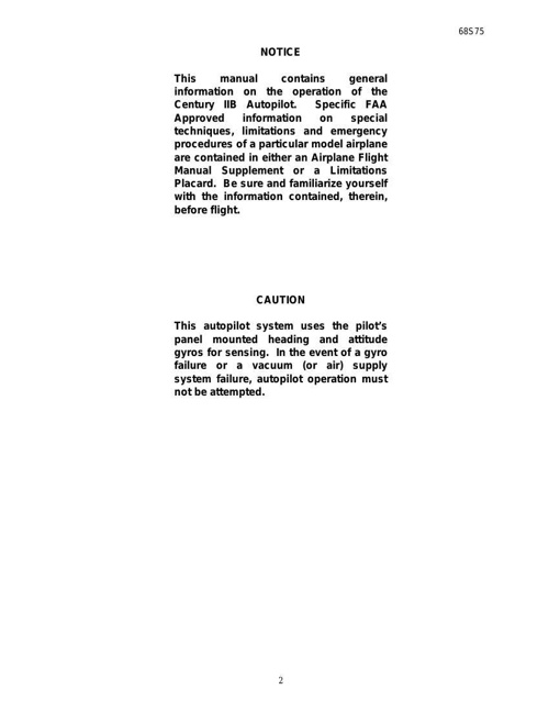 Century-IIB-Autopilot-Manual by Mark Harris - Flipsnack